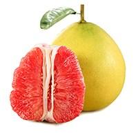 新鲜现摘香甜红心柚子2个装