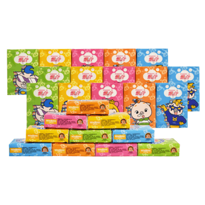 波斯猫原木纸巾整箱50包