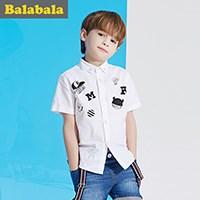 巴拉巴拉男童短袖衬衫