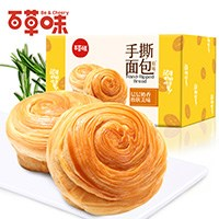 百草味手撕面包1kg整箱