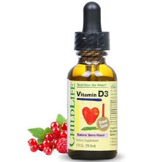 美国童年时光婴幼儿维生素D3滴剂