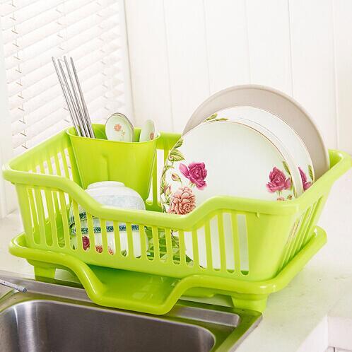 顾巢 厨房沥水碗架塑料碗碟架