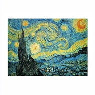 世界名画系列梵高星空拼图1000片