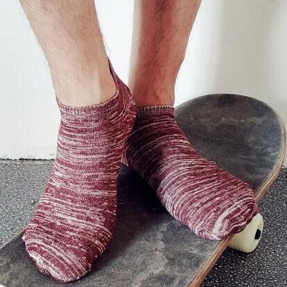 北极绒 夏季情侣棉船袜 10双装