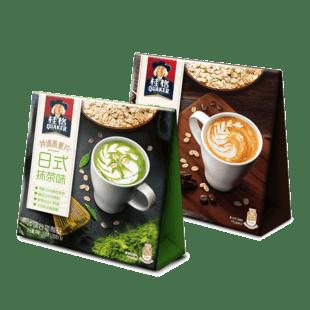 桂格日式抹茶燕麦片168g*2盒