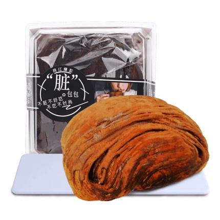 网红爆浆脏脏包巧克力面包150g