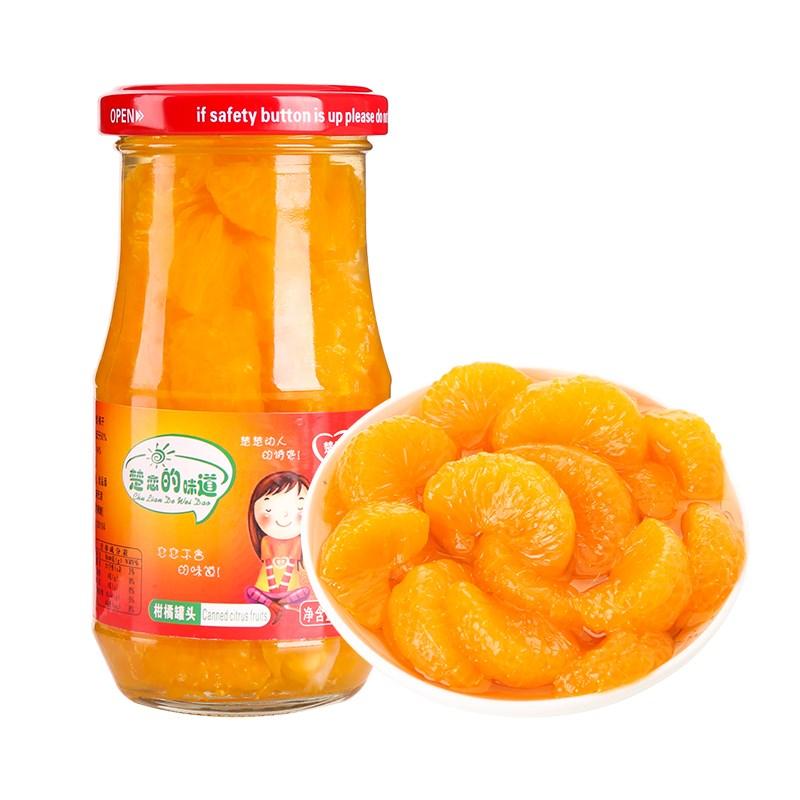 丞贡园新鲜桔子罐头6罐