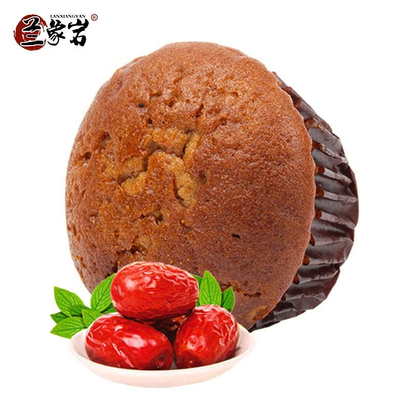 兰象岩红枣蒸蛋糕500g