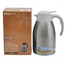 镇店之宝,Tiger 虎牌 不锈钢便携式保温热水瓶1.6L