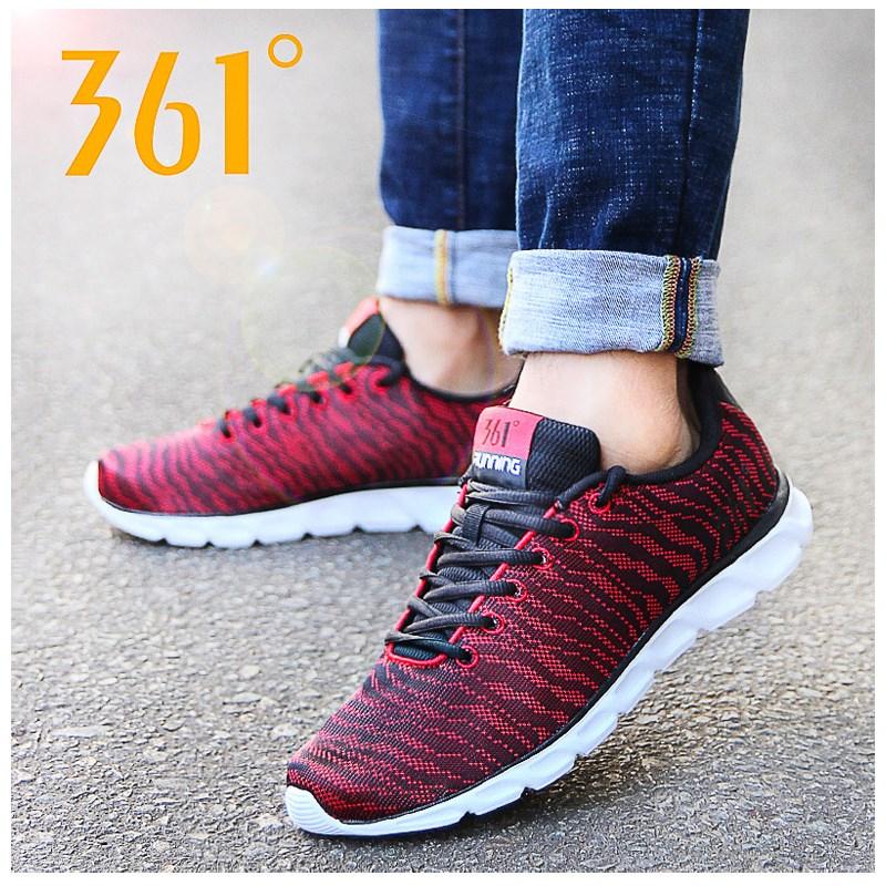 361度男鞋运动鞋网面跑步鞋