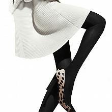 厚木140D发热连裤袜2双装