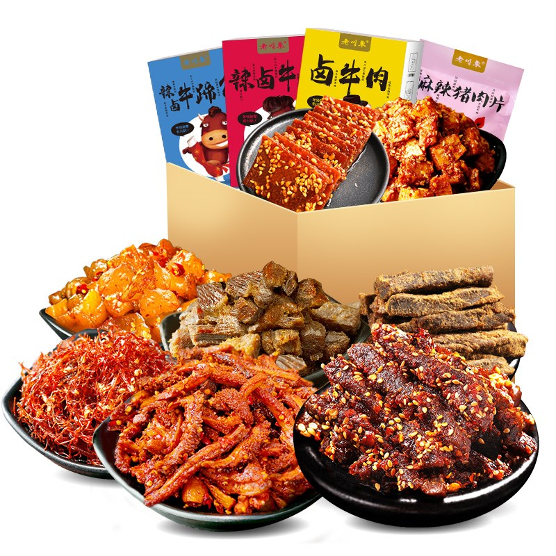 老川东牛肉系列小吃5组合
