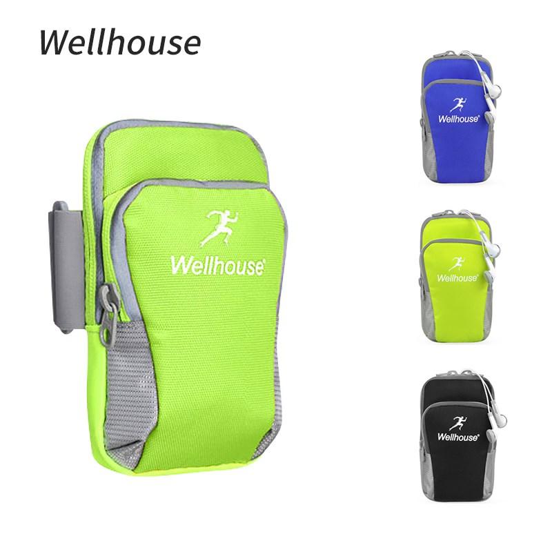 Wellhouse户外跑步手机臂包