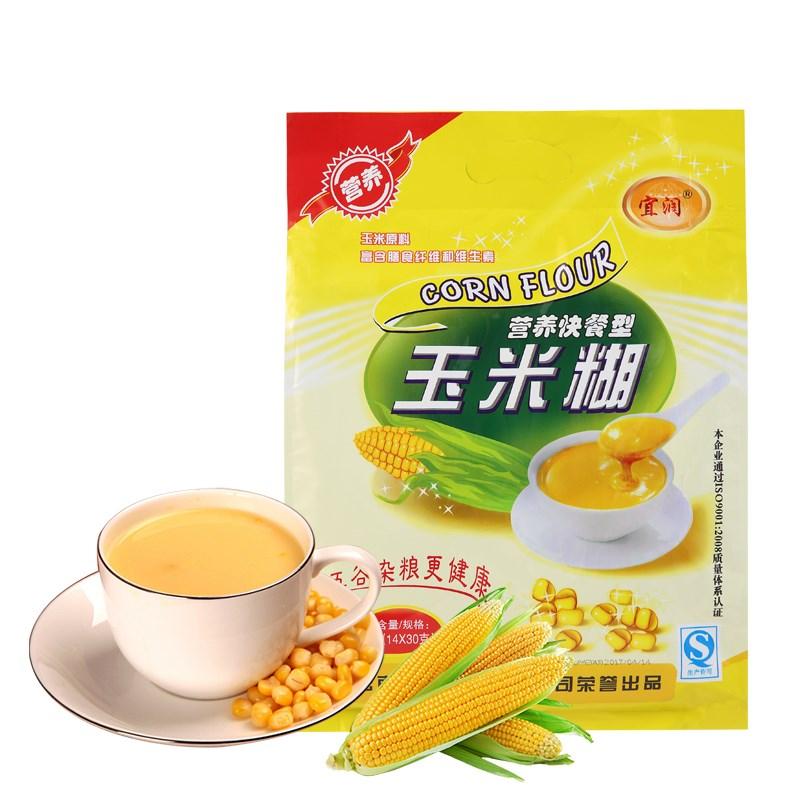 宜润速食营养早餐玉米糊420g
