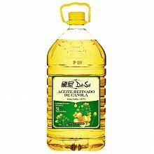 黛尼 压榨一级 芥花籽油(菜籽油)5L