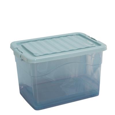 多简塑料收纳箱20L 买2个送10个衣架