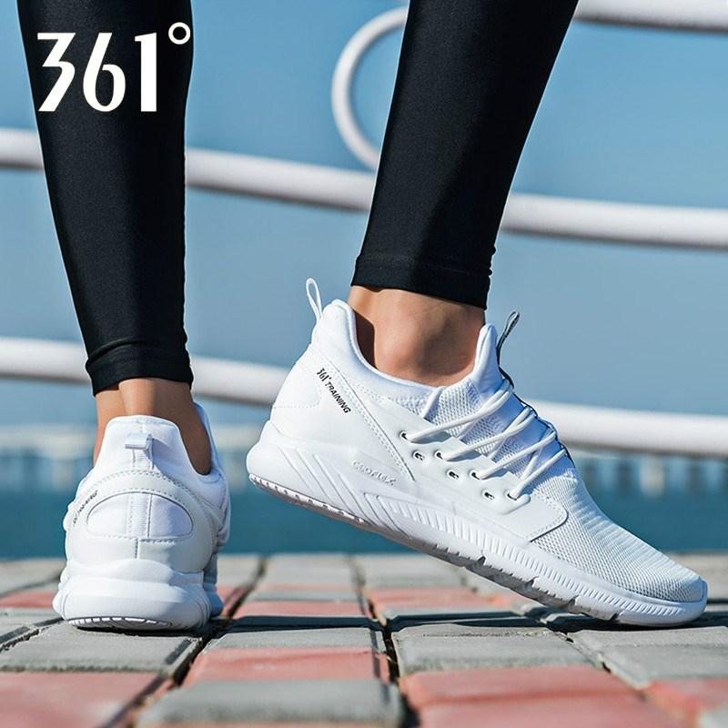 361°新款男鞋网面休闲运动跑步鞋