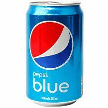 巴厘岛进口百事蓝色可乐