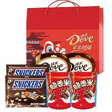 德芙福气盈门糖果巧克力礼盒大礼包