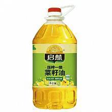 启航压榨一级菜籽油5L