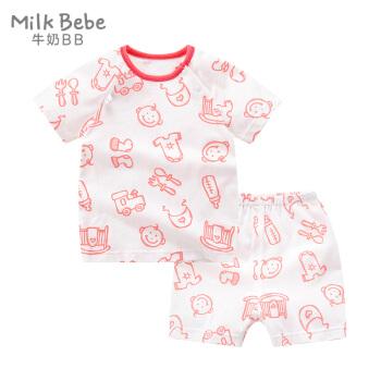 宝宝纯棉短袖套装
