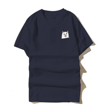 稻草人男士趣味印花短袖T恤