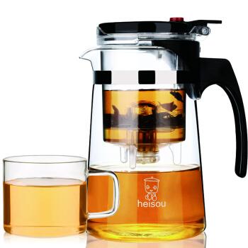 禾艾苏耐热飘逸玻璃茶壶