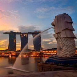 北京/上海/广州往返新加坡含税机票