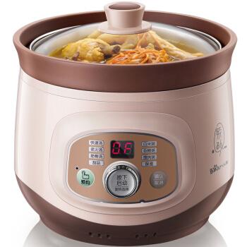 小熊煲汤紫砂电炖锅