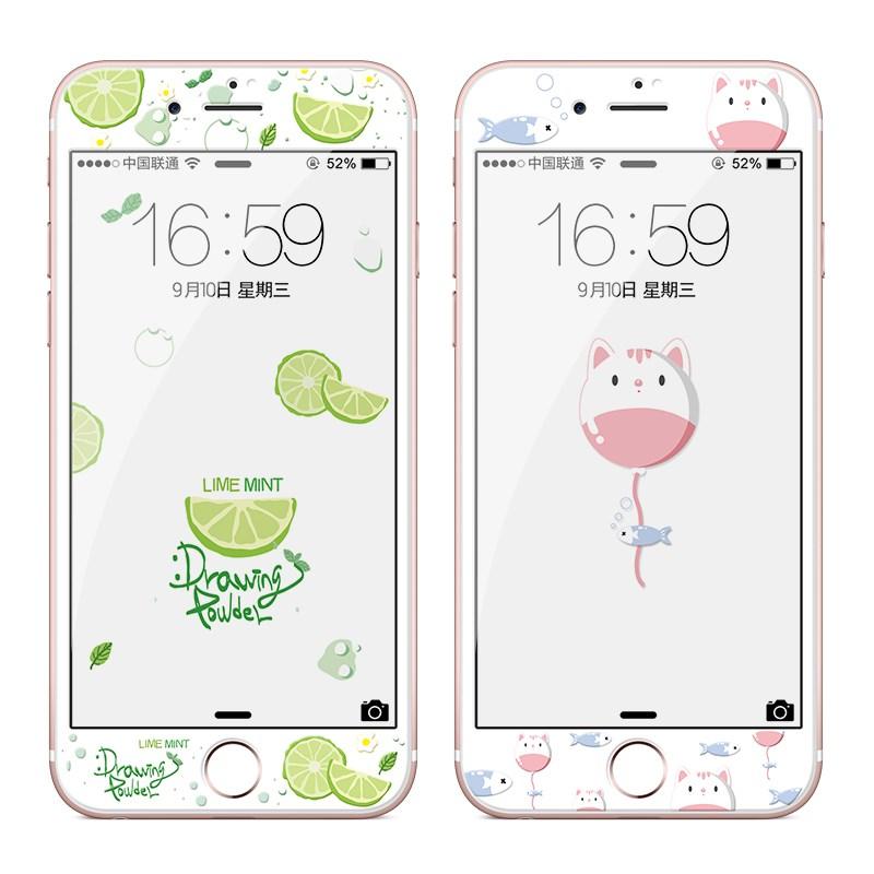 卡绮 iPhone全屏3D卡通彩膜