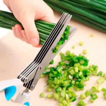 乾竞 葱花剪刀锋利厨房用品