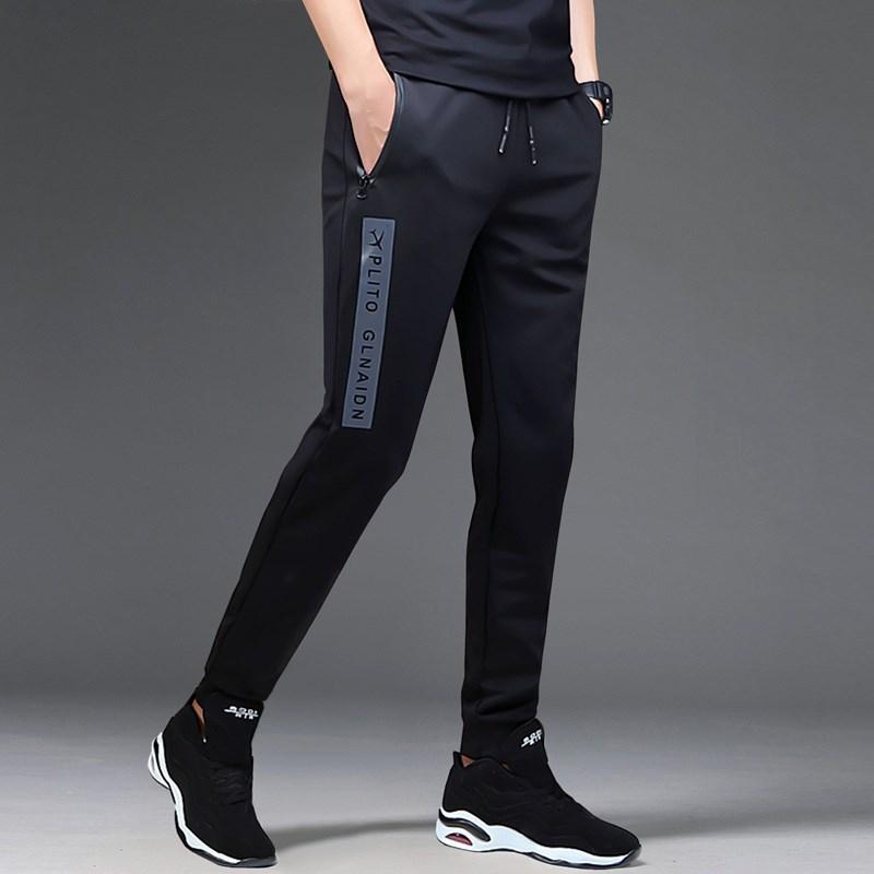 夏季男生运动裤九分裤