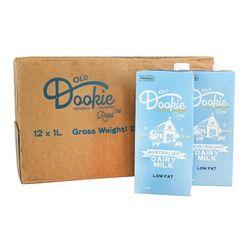 澳杜克 低脂纯牛奶 1L*12盒