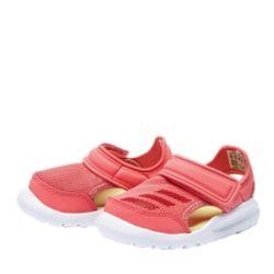 阿迪达斯 AC8299 儿童软底运动凉鞋