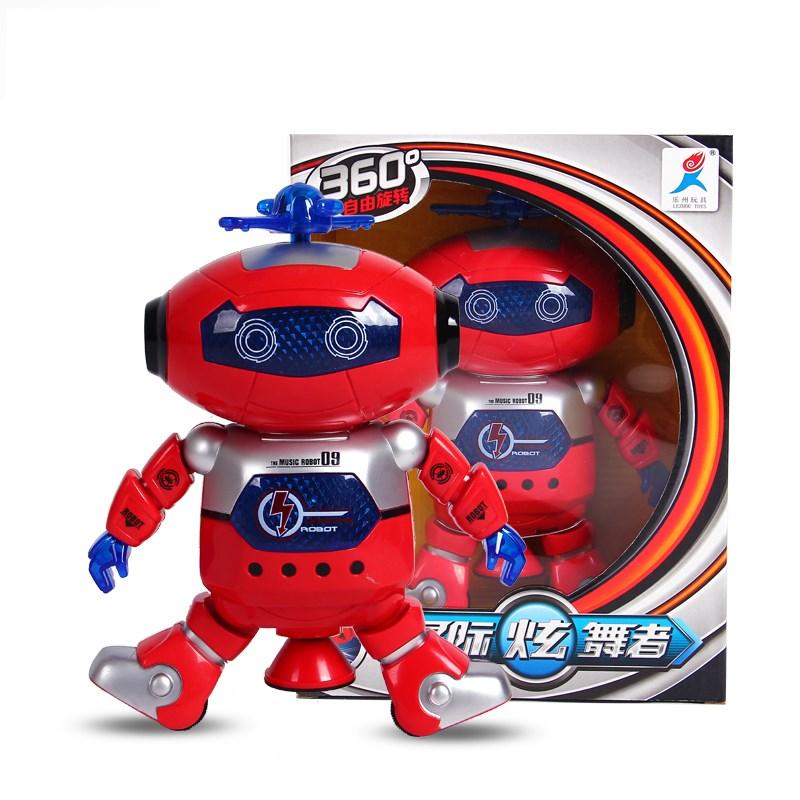 电动音乐机器人玩具