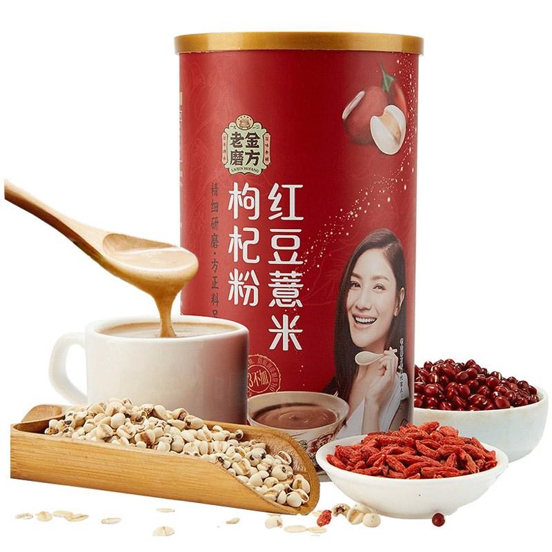 老金磨方红豆薏米粉600g