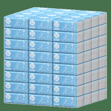 纯木植护抽纸27包整箱