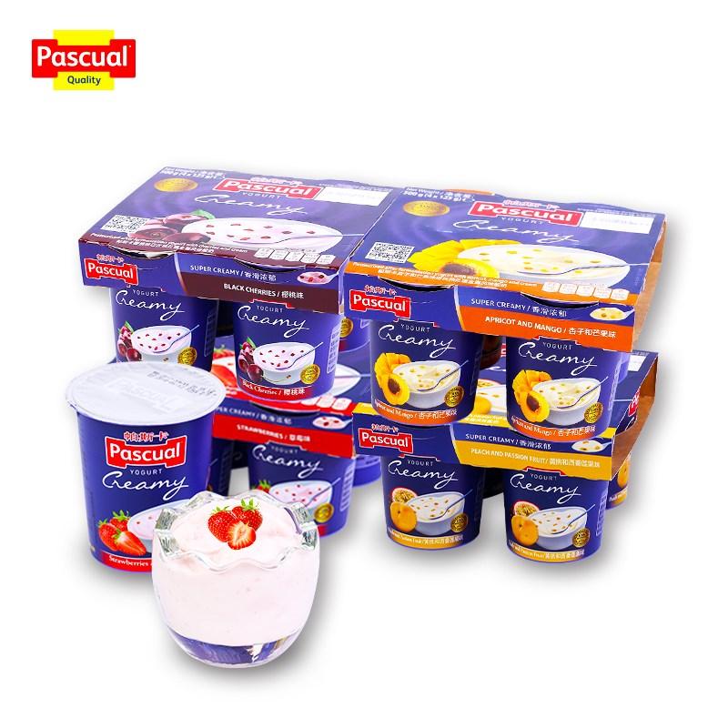 帕斯卡全脂风味酸奶125g*16杯