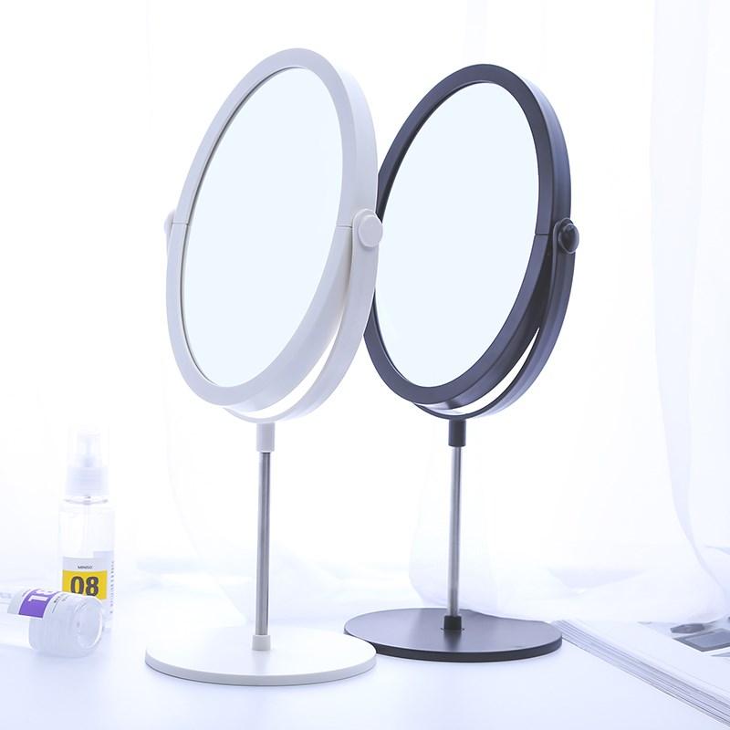 便携双面化妆小圆镜