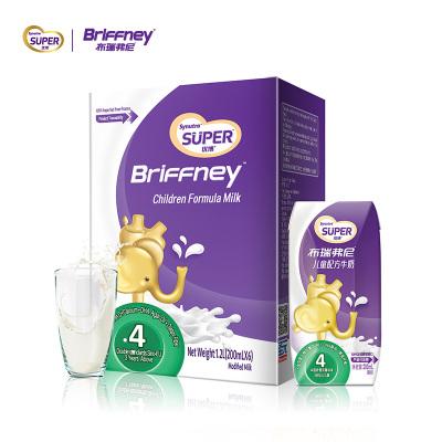 布瑞弗尼进口儿童牛奶6盒