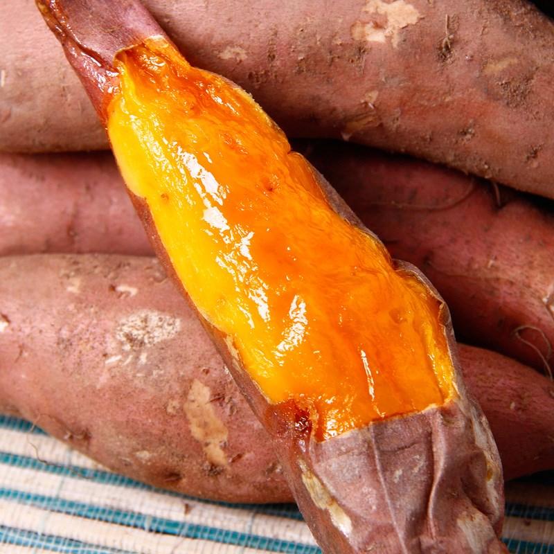 现挖新鲜农家迷你小香薯5斤
