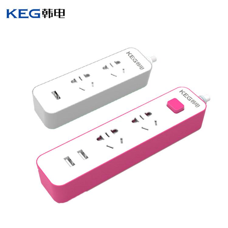 韩电USB插座1.5m