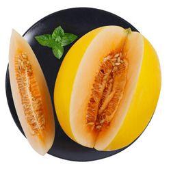 唐鲜生 甘肃民勤黄金蜜瓜2个装6-7斤