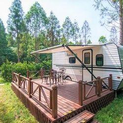 亲子游:上海东平国家森林公园房车露营
