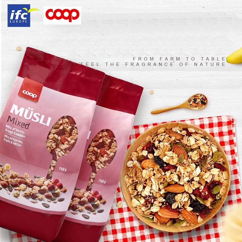 营养坚果水果燕麦片750g*2袋