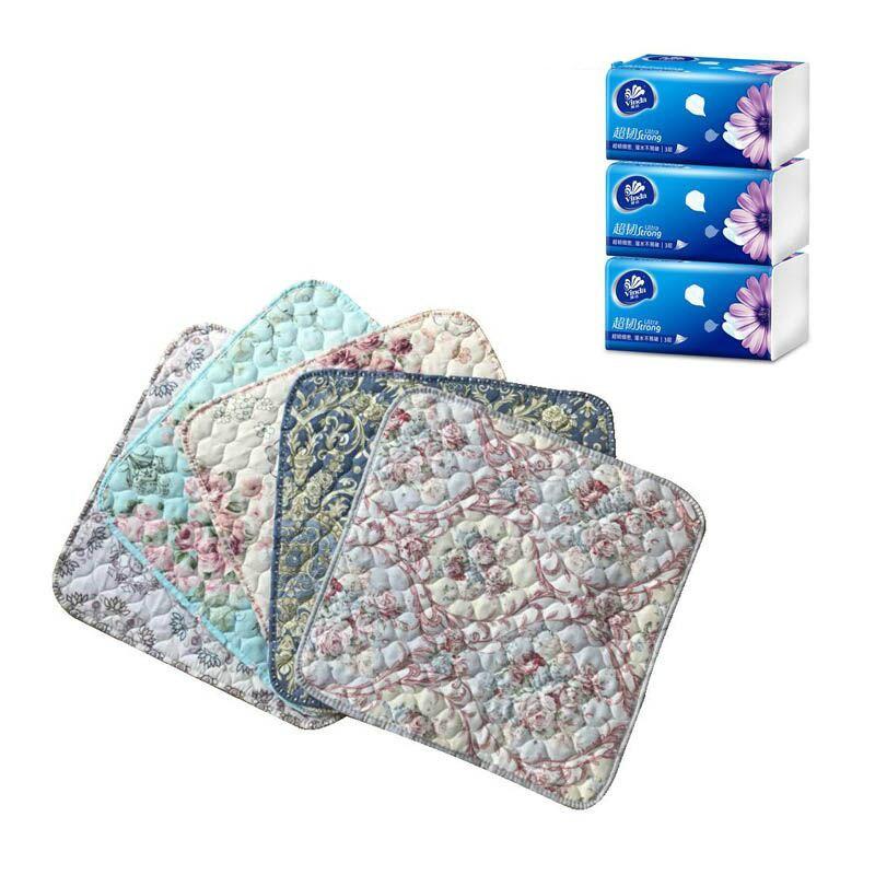 精品布艺坐垫+3包维达抽纸