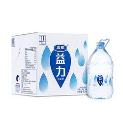 达能 益力 饮用天然矿泉水5L*4瓶