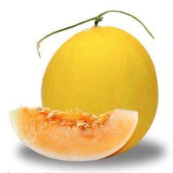 新庄绿丰 金红宝 哈密瓜 2个装 约6-7斤