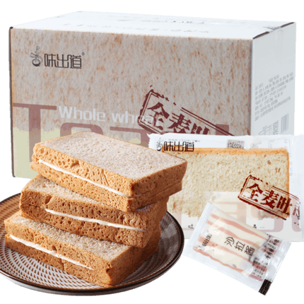 全麦吐司粗粮面包2斤