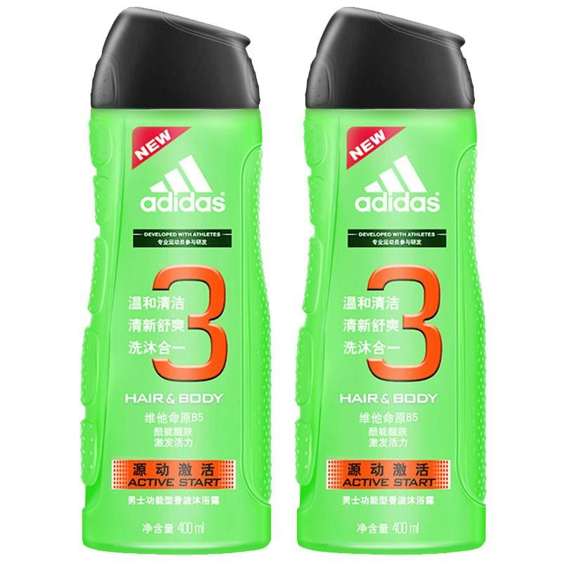 【阿迪达斯】源动激活系列沐浴露400mL*2瓶